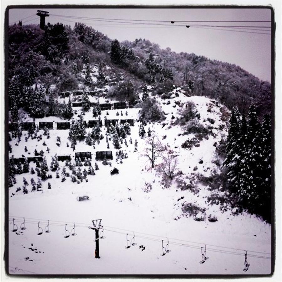 Ski resort Photograph by Masamichi Takano