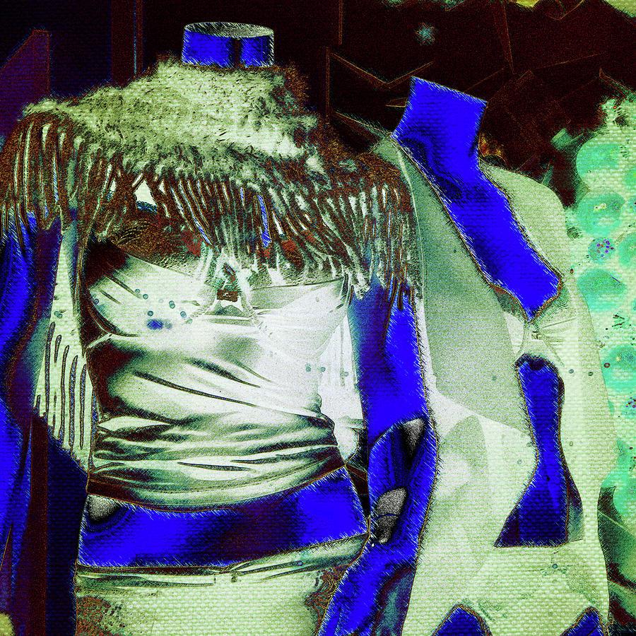 11422 Mannequin Series 6 #11 Square - Sexy Ladies Photograph