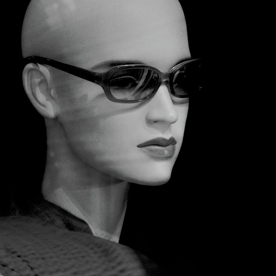 11436 Mannequin Series 11-16 Monochrome Digital Art
