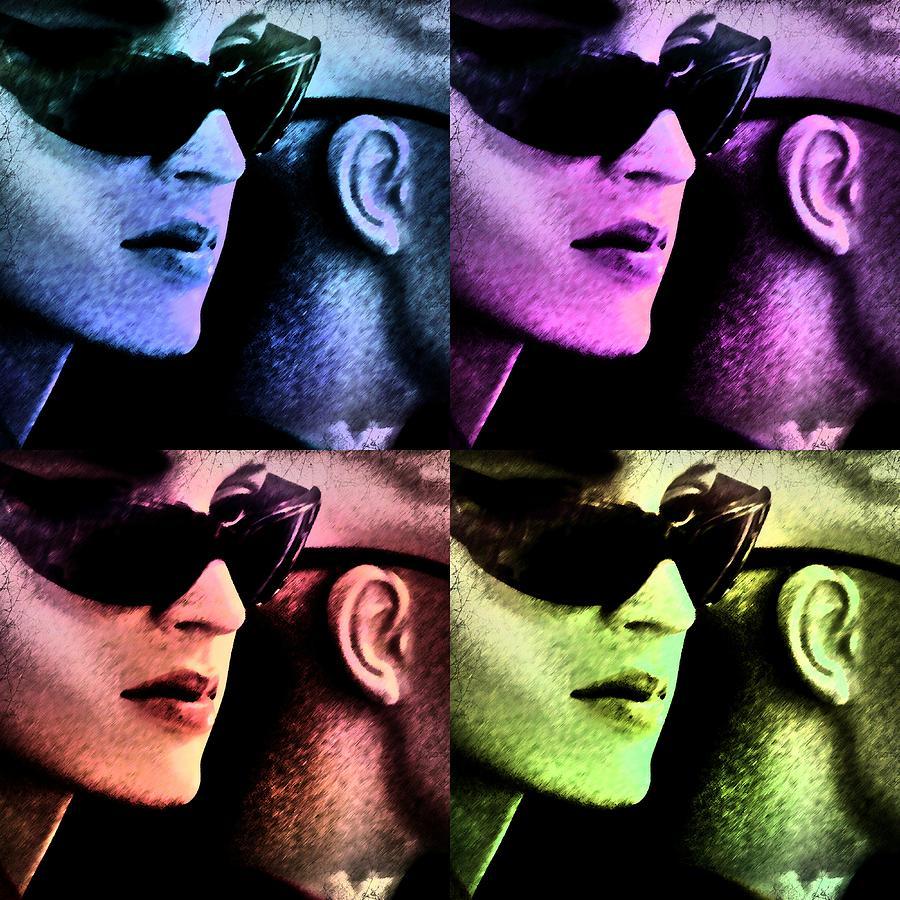 11438 Mannequin Series 11-14 Can You Keep A Secret Pop Art 2 Photograph