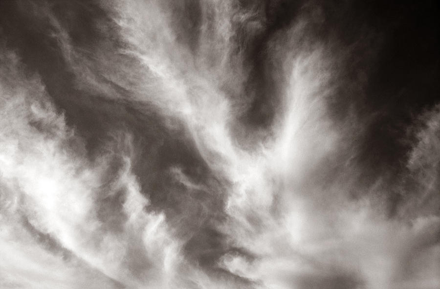 Clouds Photograph - 116 - Atmospheric - Cloud Formation by Eric  Copeman