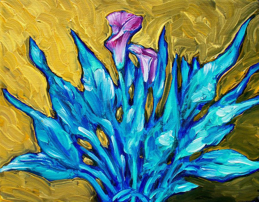 Calla Painting - 11.95 by Sheila Tajima