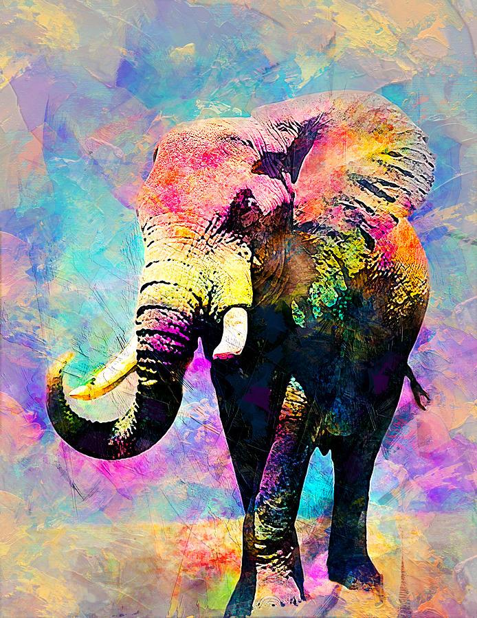 Elephant Digital Art