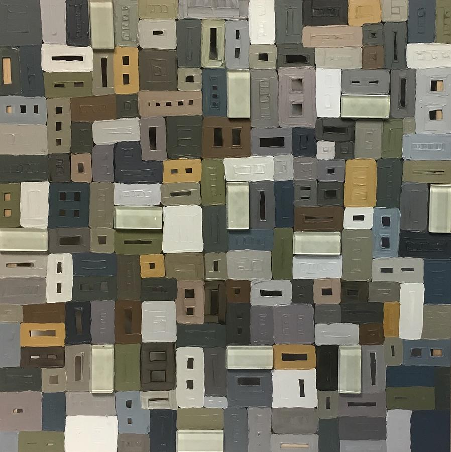 12 Painting - 12 by Lorrie Boydston