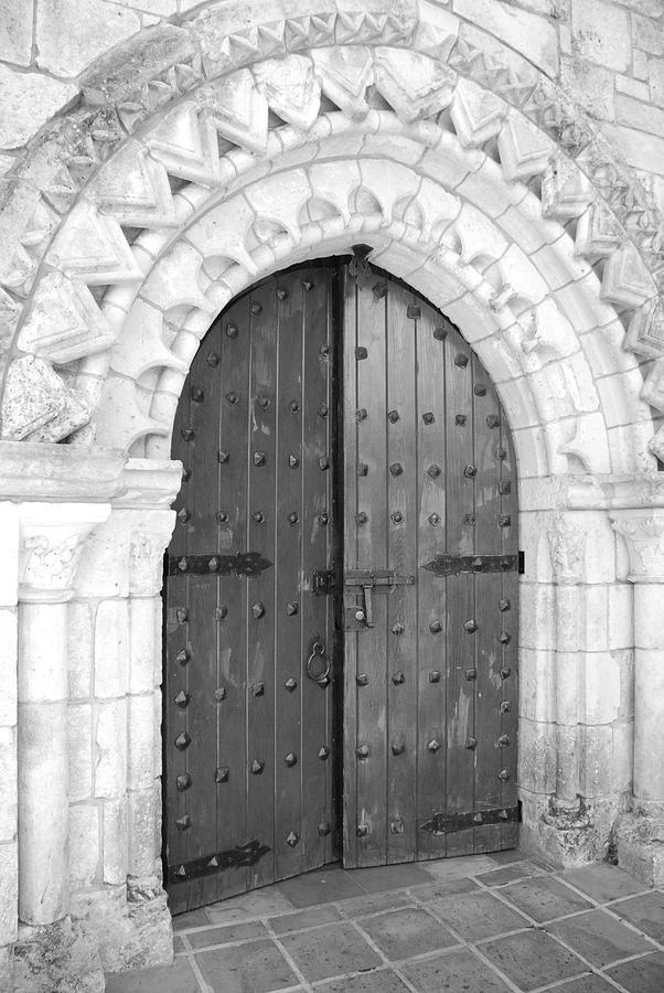 Door Photograph - Miami Monastery by Rob Hans