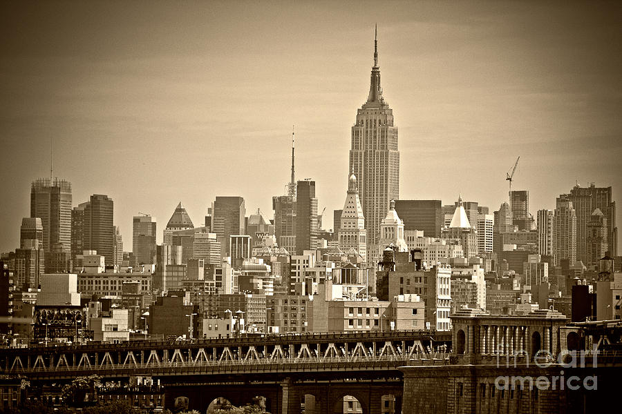 America Photograph - New York  by Juergen Held