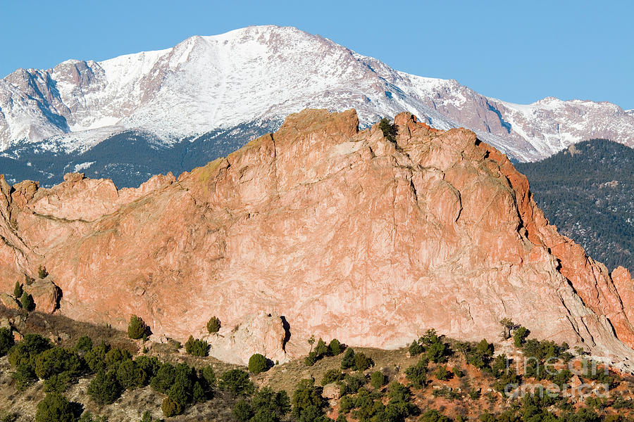 Pikes Peak Photograph
