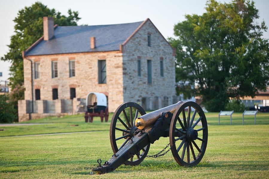 Arkansas Photograph - 12-pounder Napoleon by Jonas Wingfield