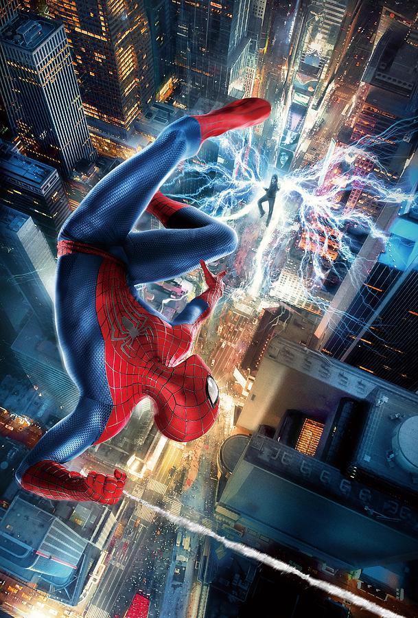 The Amazing Spider Man 2012 Digital Art By Geek N Rock
