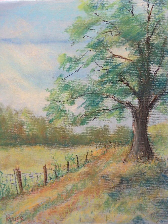 Landscape Painting - 124 South by Pete Maier
