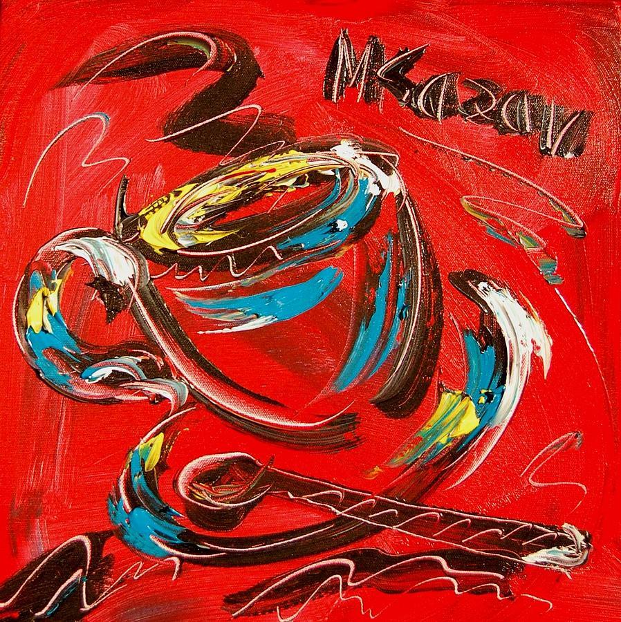 Coffee Painting - Coffee  by Mark Kazav