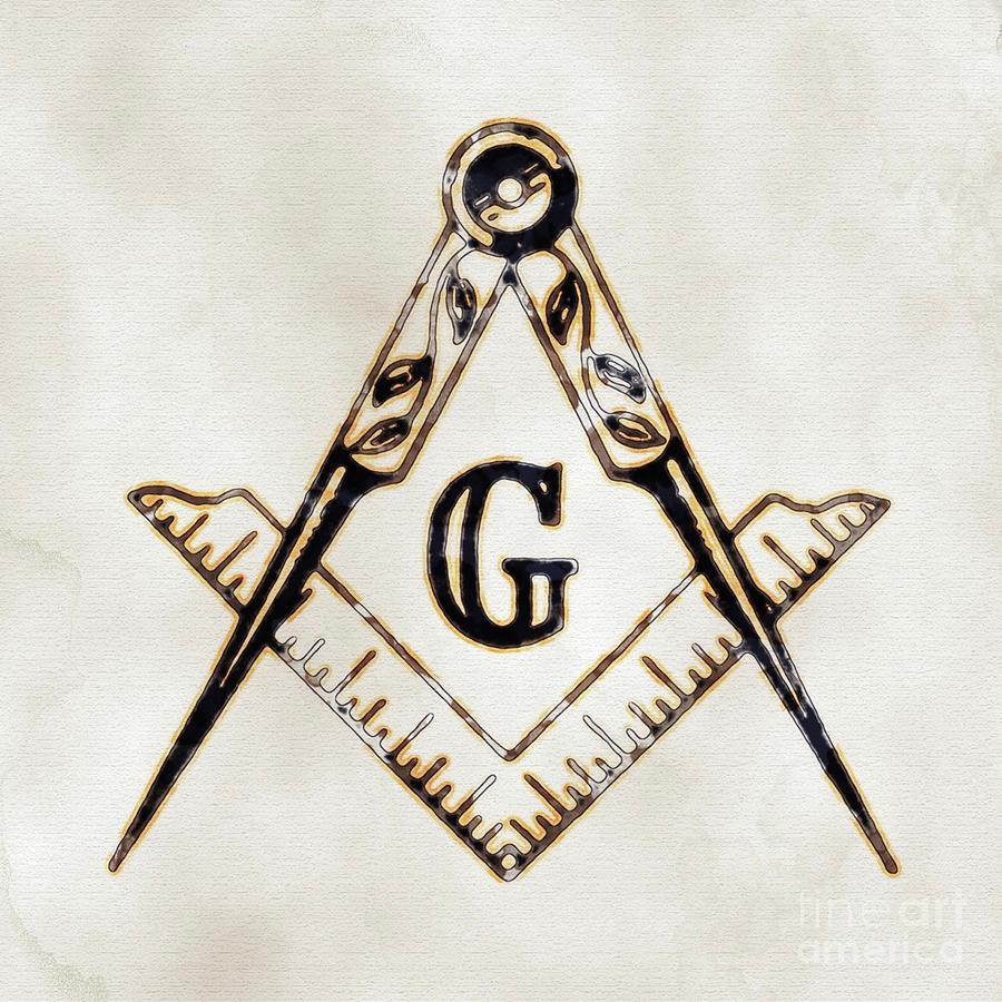 Freemason Digital Art - Ancient Freemasonic Symbolism By Pierre Blanchard by Pierre Blanchard