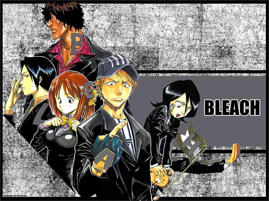 Bleach Digital Art - Bleach by Dorothy Binder