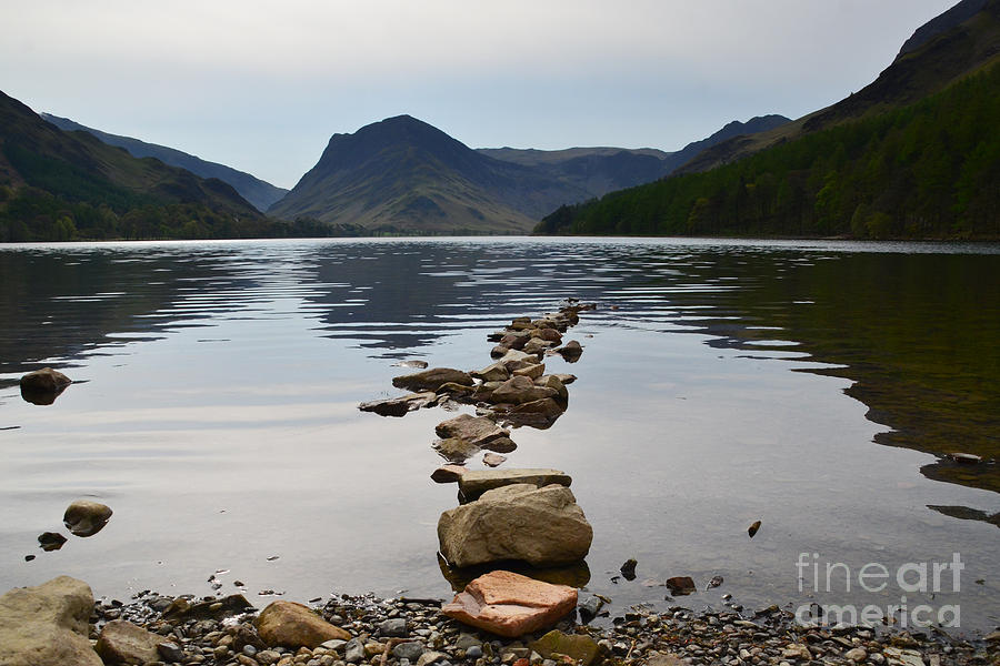 Buttermere Lake Photograph - Buttermere by Smart Aviation