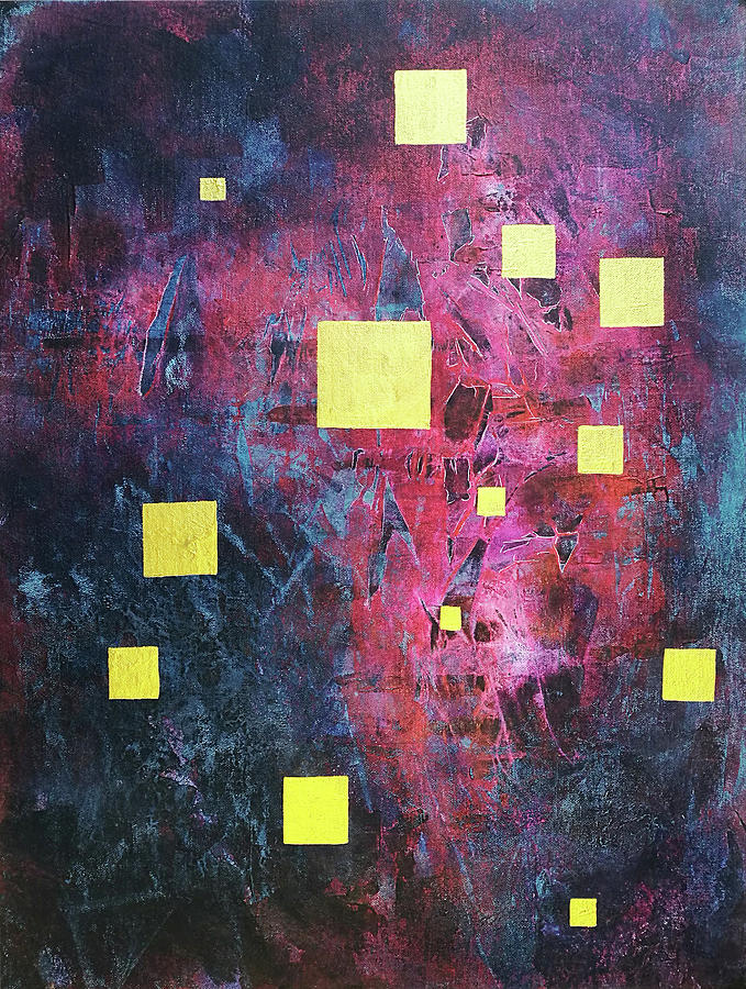 Abstract Painting - 13 Squares  by Adam Laughlin