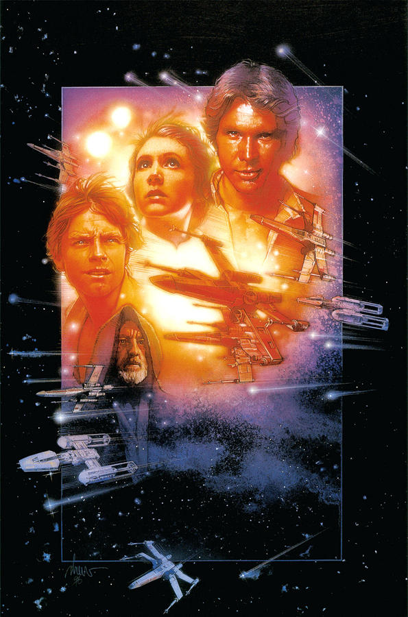 Star Wars Episode Iv A New Hope 1977 Digital Art By Geek N Rock