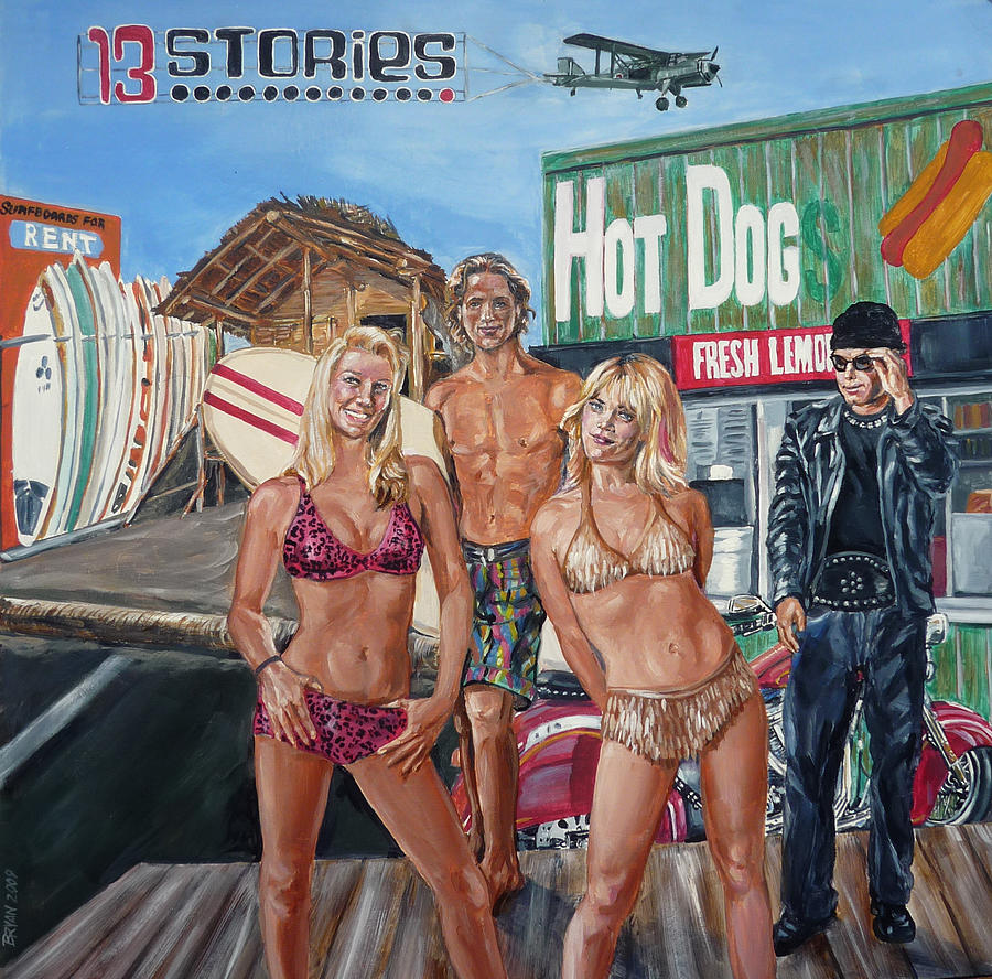 Band Painting - 13 Stories by Bryan Bustard