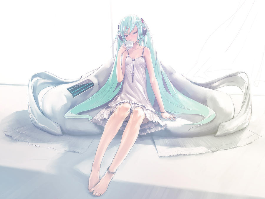 Vocaloid Digital Art - Vocaloid by Dorothy Binder