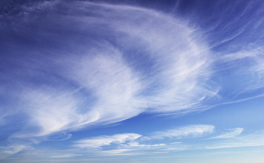 Clouds Photograph - 134 - Atmospheric - Cloud Cluster by Eric  Copeman