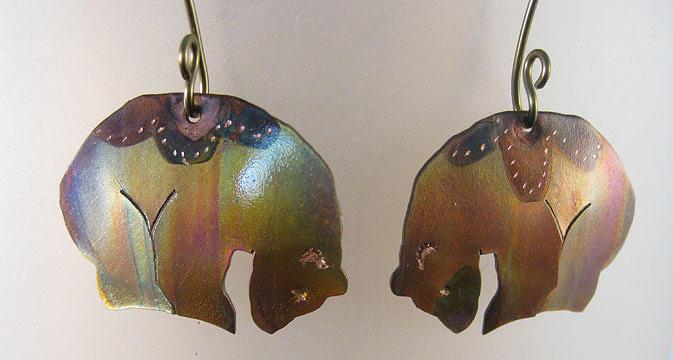 1364 Aurora Bear-ealis by Dianne Brooks