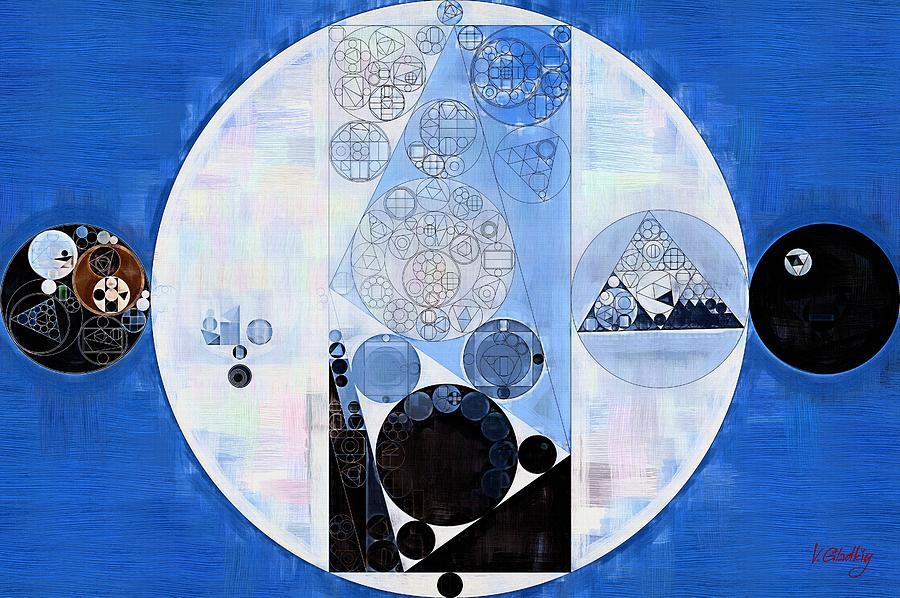 Poster Digital Art - Abstract Painting - Onyx by Vitaliy Gladkiy