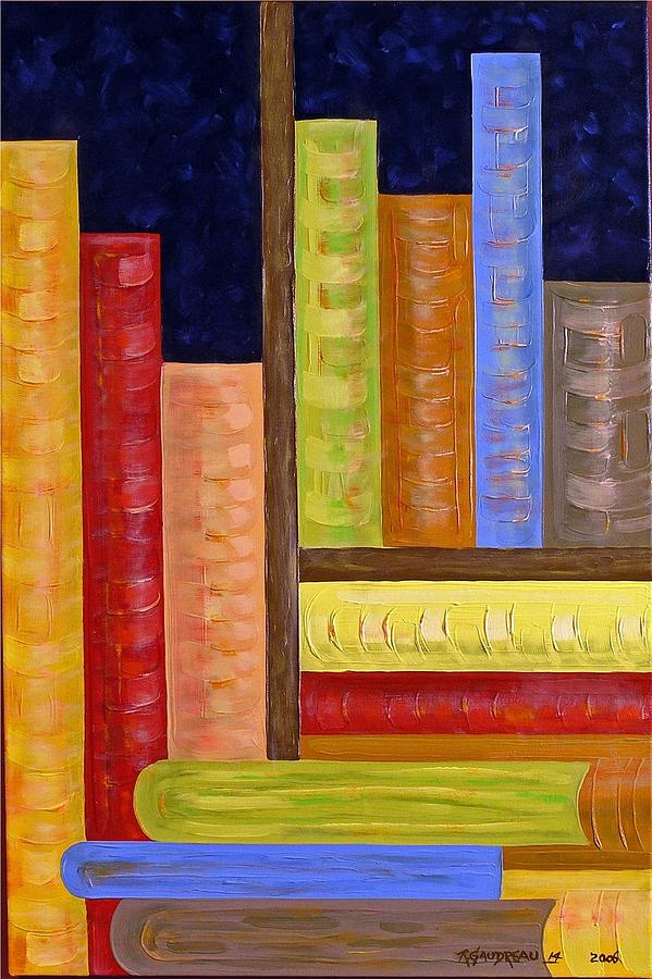 Abstract Expressionism Painting - 14 Books by Robert Gaudreau