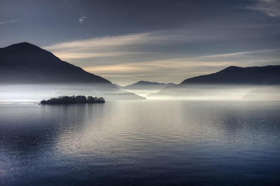 Travel Photograph - Lake Maggiore by Joana Kruse