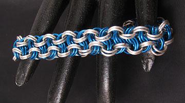 1408 Vipera Berus Bracelet by Dianne Brooks