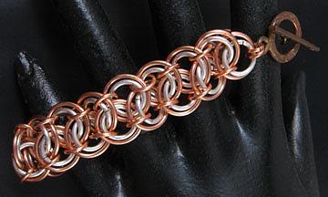 1411 Double Barrel Bracelet by Dianne Brooks