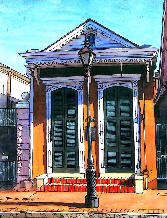 New Orleans Painting - 146 by John Boles