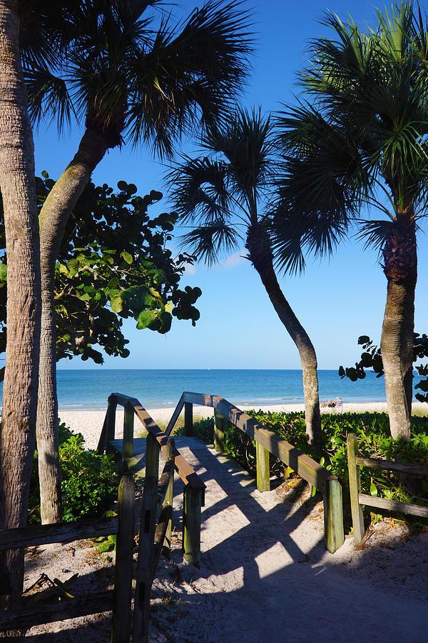 14th Ave S Beach Access Ramp - Naples FL by Robb Stan