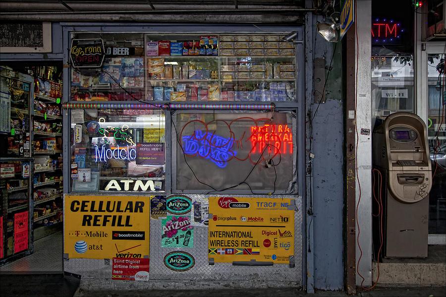 Store Photograph - 14th Street by Robert Ullmann