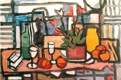 Jar Painting - 14yellowbigvase by Juan Luis Quintana