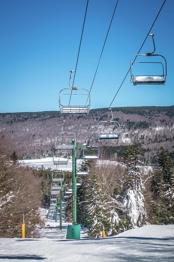 Cass Photograph - Beautiful Nature And Scenery Around Snowshoe Ski Resort In Cass  by Alex Grichenko