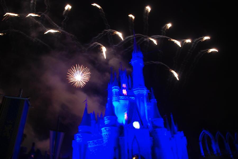 Walt Disney World Photograph - Cinderella Castle by Rob Hans