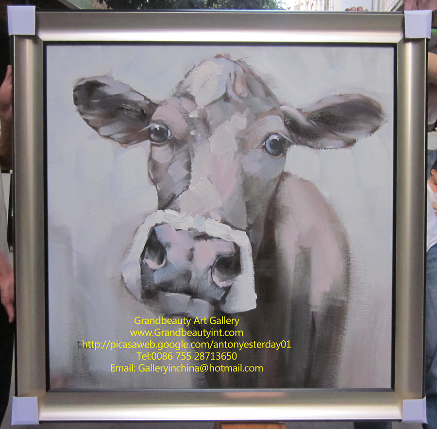 Animal Painting - Cow by Darren