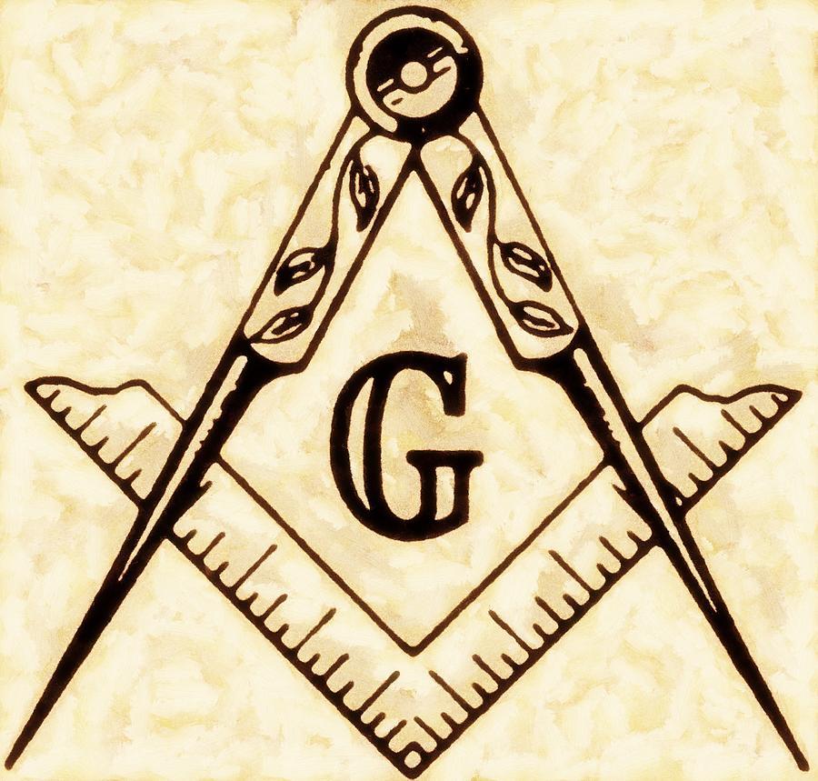 Freemason Painting - Freemason Symbolism By Pierre Blanchard 15 by Pierre Blanchard