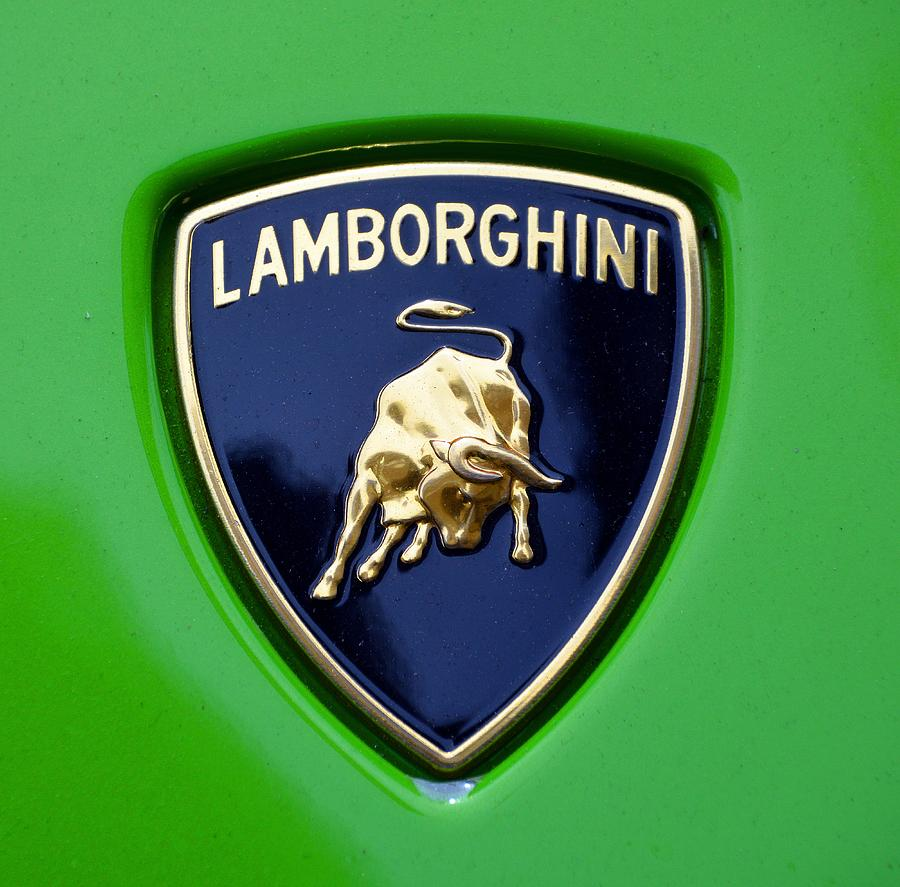Lamborghini Emblem Photograph By Lamborghini Emblem
