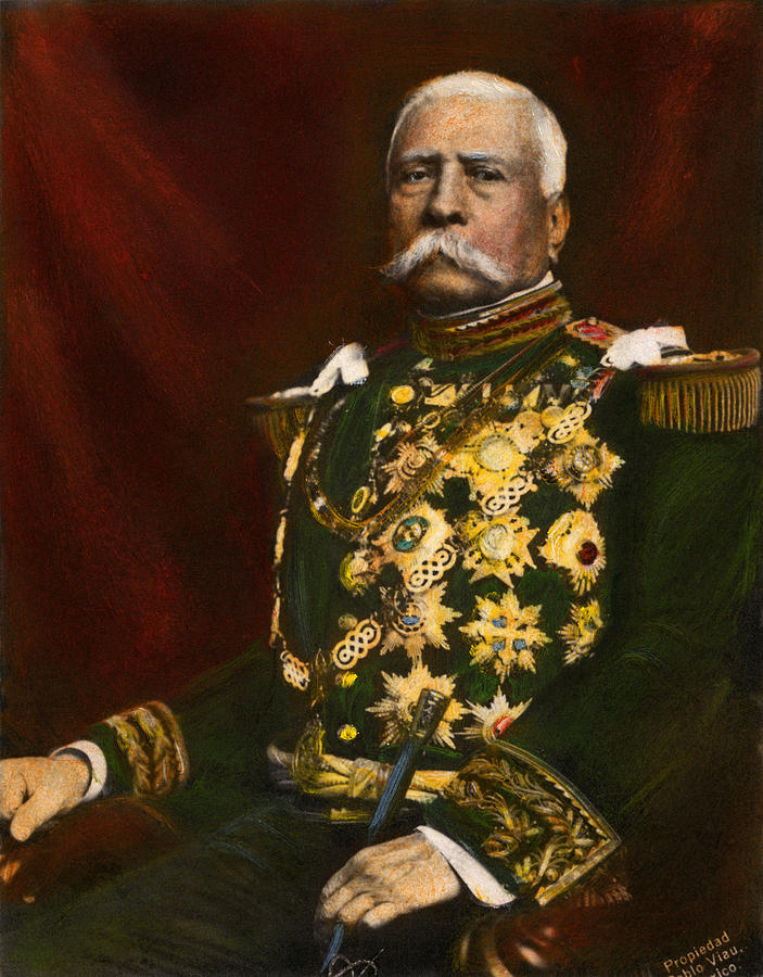 1910 Photograph - Porfirio Diaz, 1830-1915 by Granger