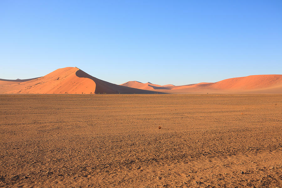 Kalahari Photograph - Sossusvlei Dunes by Davide Guidolin
