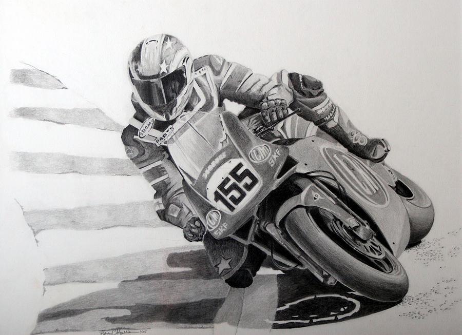Pencil Drawing - 155 by Brian Edward Harris