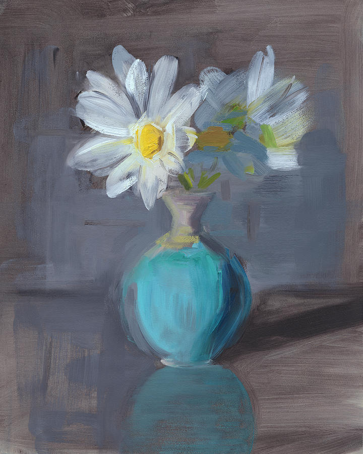 Daisy Painting - Rcnpaintings.com by Chris N Rohrbach