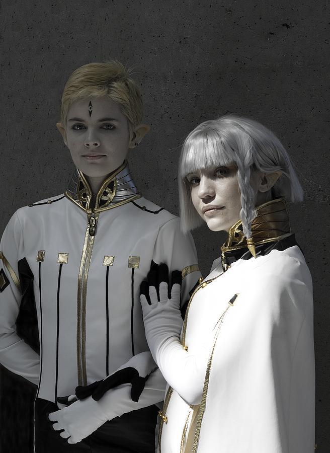 Anime Photograph - Dio And Lucciola by Viktor Savchenko