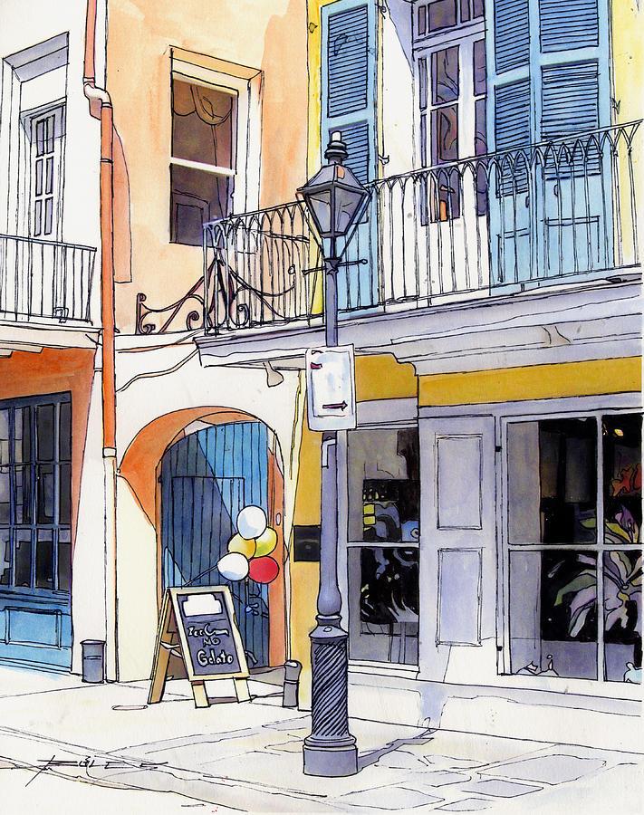 New Orleans Painting - 162 by John Boles