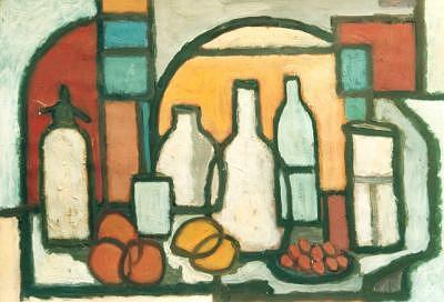 Jar Painting - 16interiorandsifon by Juan Luis Quintana