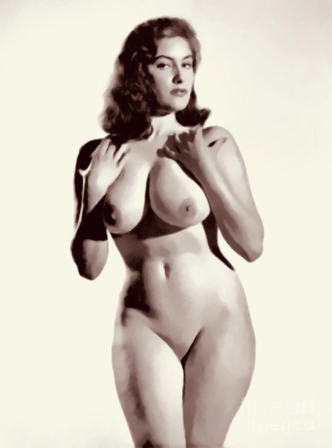 Retro vintage naked girls