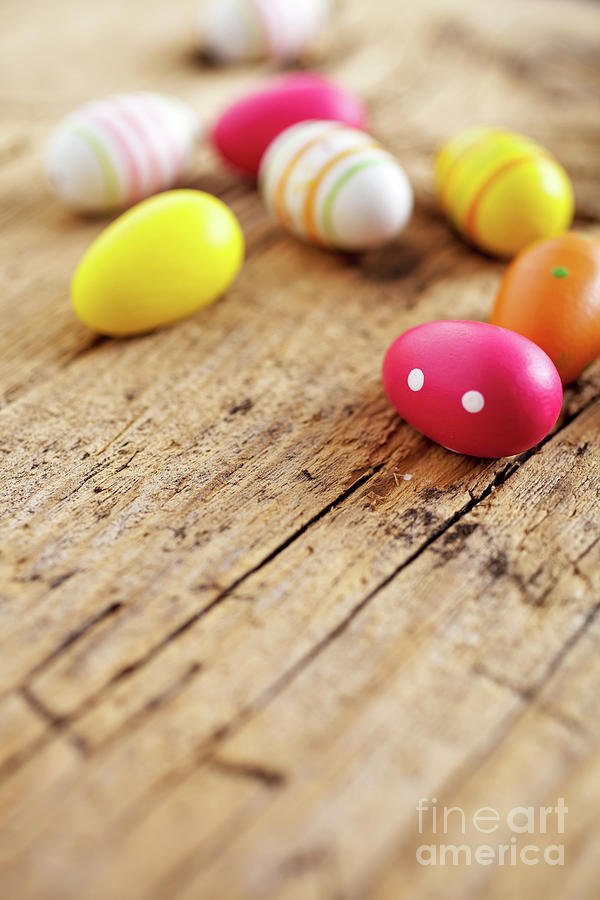 Holiday Photograph - Easter Eggs by Kati Finell