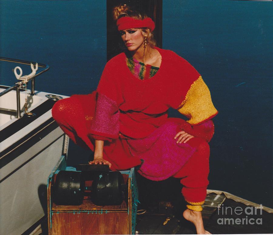 Editorial Photograph - Fashion Model by Mia Alexander