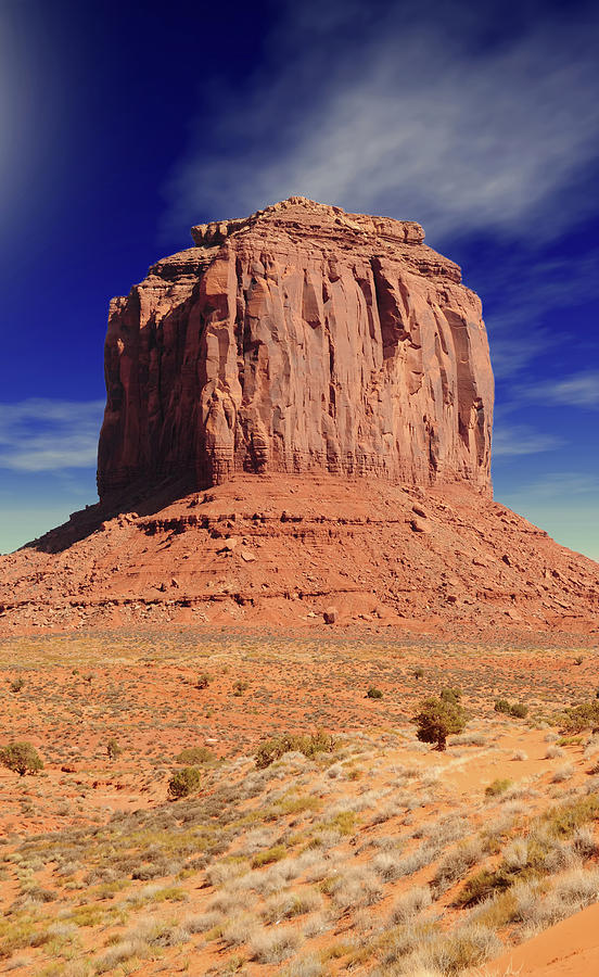 Monument Photograph - Monument Valley by Paul Moore