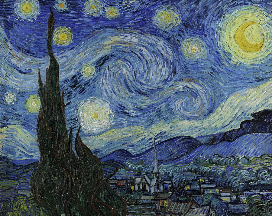 Van Gogh Starry Night Painting - Starry Night by Starry Night